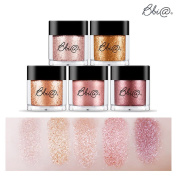 [Bbia] Jewel Sparkling Glitter Powder Eye Shadow Pigment 1.8g / 5 Colour Set Tasty Make up Collection / #1-#5