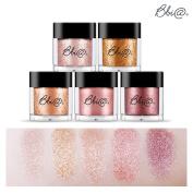 [Bbia] Jewel Sparkling Glitter Powder Eye Shadow Pigment 1.8g / 5 Colour Set Tasty Make up Collection / #1-#5