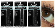 Lot of 3 Aziza Lengthening Black/brown Mascara 5ml