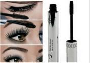 Wispun Eye Mascara Long Thick Eyelash Silicone Brush Curving Lengthening Mascara Waterproof Makeup