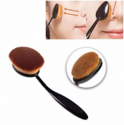 Willtoo Big Oval Tooth Brush Foundation Makeup Brushes