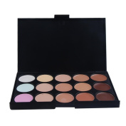 Willtoo 15 Colour Cream Camouflage Concealers Palette Eye Face Cosmetic Makeup Earth Tone