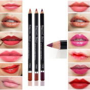 Willtoo 19 Colours Cosmetic Lip Liner Lipliner Pen Pencil Fashion Makeup Waterproof Hot