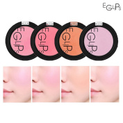 [EGLIPS] Apple Fit Blusher 4g / 4 Matte Colour Set / Everyday Natural Look