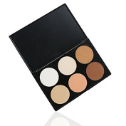 RUIMIO Makeup Contour Kit Highlight and Bronzing Powder Palette - 6 Colours
