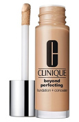 Clinique Beyond Perfecting Foundation + Concealer Makeup, 09 Neutral (MF-N), Travel Size .17oz/5ml
