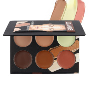 Ucanbe Cosmetics Cream Contour and Highlighting Makeup Kit - Contouring Foundation & Concealer Palette