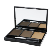 Naimo 3 Colours Eyebrow Powder/Shadow Palette with Brush