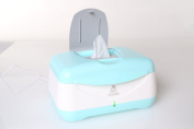 Lil' Jumbl Baby Wipes Warmer - Perfect Mommy's Helper for Safe Cleanup - Blue