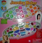 Jewellery Maker ** 2 in 1 ** Honey Seed Beads ** Sparkle Beads