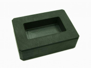 150ml Gold Bar High Density Graphite Mould Rectangle