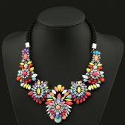 WellieSTR 1 Piece Sweet Flowers Fashion Jewellery Charm Necklace Collar Bib for Women - clothing accessories