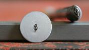 Supply Guy 4mm Branch Leaf Metal Punch Design Stamp F-5