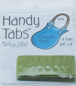 Handy Tabs by Lazy Girl Designs - Oregano Green