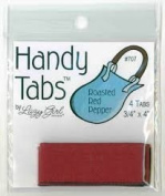 Handy Tabs by Lazy Girl Designs - Roasted Red Pepper