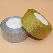 """1-3/8"""" 50mm 25 yards Ribbon Tapes Wedding Decoration Ribbon Tapes Gift Box Packing Wraping Tape Home Party Decoration Accessories"""