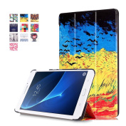 Galaxy Tab A 7.0 Folio Case -SAVYOU Painted Ultra Slim PU Leather Folding Case Cover Stand for Samsung Galaxy Tab A 7.0 SM-T280 / T285(2016) Catcher in the Rye