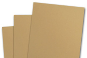 Blank Basis Light Brown 4x6 Flat Cards - 50 Pack