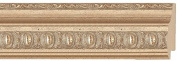 Picture Frame Moulding (Wood) 5.5m bundle - Traditional Silver Finish - 5.1cm width - 1.3cm rabbet depth