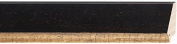Picture Frame Moulding (Wood) 5.5m bundle - Traditional Colour Finish - 5.7cm width - 1.3cm rabbet depth