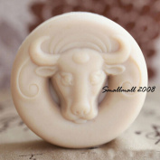 GRAINRAIN Bull Head Soap Making Mould Silicone Soap Moulds Resin Moulds Handmade Soap Moulds Diy Craft Art Moulds 1 pc