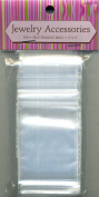 Jewellery Accessories Self Sealing Bags 5.1cm X 7.6cm 100 Count