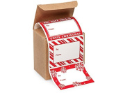 Jumbo Christmas To From Gift Labels - 72 Labels - 3 Designs