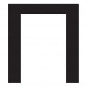 WallCandy Arts Pi Letter, Wall Sticker