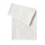 Esteffi Edelweiss Wool Blend Baby Blanket, Ivory
