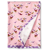 Baby Nay Baby Receiving Blanket - Ballet Pink