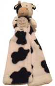 "My 1st Blanket Buddy Baby Security Blanket ""Black & White Cow"""
