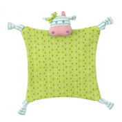 Organic Farm Buddies Blankie Belle Cow