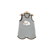 Baekop Sleeping Vest For Baby M Size Brown Grey Colour