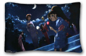 Custom Cotton & Polyester Soft Anime Custom Zippered Pillow Case 50cm x 80cm (one sides) from Surprise you suitable for Full-bed