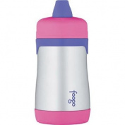 Thermos - Foogo Phases BPA-Free Pink 300ml Leak-Proof Stainless Steel Sippy Cup,