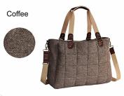 Landuo High Quality Cotton Fabric Fashion Nappy Bag