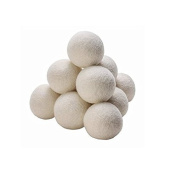 Cottage Lane Premium New Zealand Wool Laundry Dryer Balls Set
