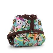 Kanga Care Rumparooz Cloth Nappy Cover - Snap - Tokisweet - Mint Chip, Multi, Newborn