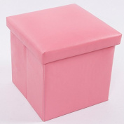 Zebratown Kids Storage Box Boys Girls Seat StoolFold Box