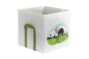 HAPI design Turtle Foldable Storage Box with Side Handlers