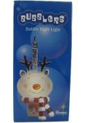 Reindeer Head Bubble Night Light