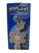 Snowman on Snowflake Bubble Night Light