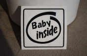 Original sticker Baby inside (black gloss) SD-1012