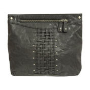 Religion Women's Interweave Faux Leather Clutch Bag One Size Black