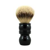 RazoRock High Mountain White Silvertip Badger Shaving Brush - 24mm Knot