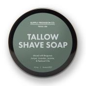 SUPPLY Tallow Shave Soap - Juniper