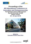 Icie 2016 - Proceedings of the 4th International Conference on Innovation and Entrepreneurship