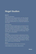 Hegel-Studien Band 21 (1986) [GER]