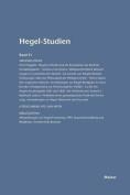 Hegel-Studien Band 31 (1996) [GER]