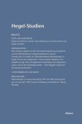 Hegel-Studien Band 35 (2000) [GER]